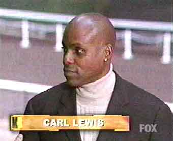 Commentary by Carl Lewis. Yes THAT Carl Lewis.