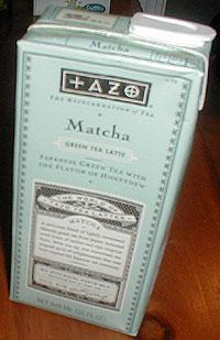 Tazo Matcha latte