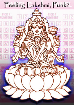 Lakshmi - Hindu goddess of luck
