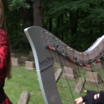 IRON MAIDEN - The Trooper ( Harp Twins) Camille and Kennerly HARP METAL