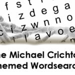 The Michael Crichton Themed Wordsearch