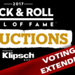 2017 Rock & Roll Hall of Fame Fan Vote Extended