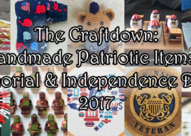 10 Handmade Patriotic Items for Memorial & Independence Days 2017