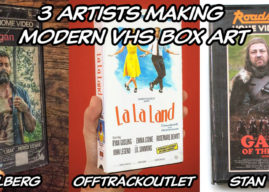 3 Artists Making Modern VHS Box Art