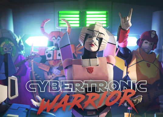 The Cybertronic Spree New Single - Cybertronic Warrior