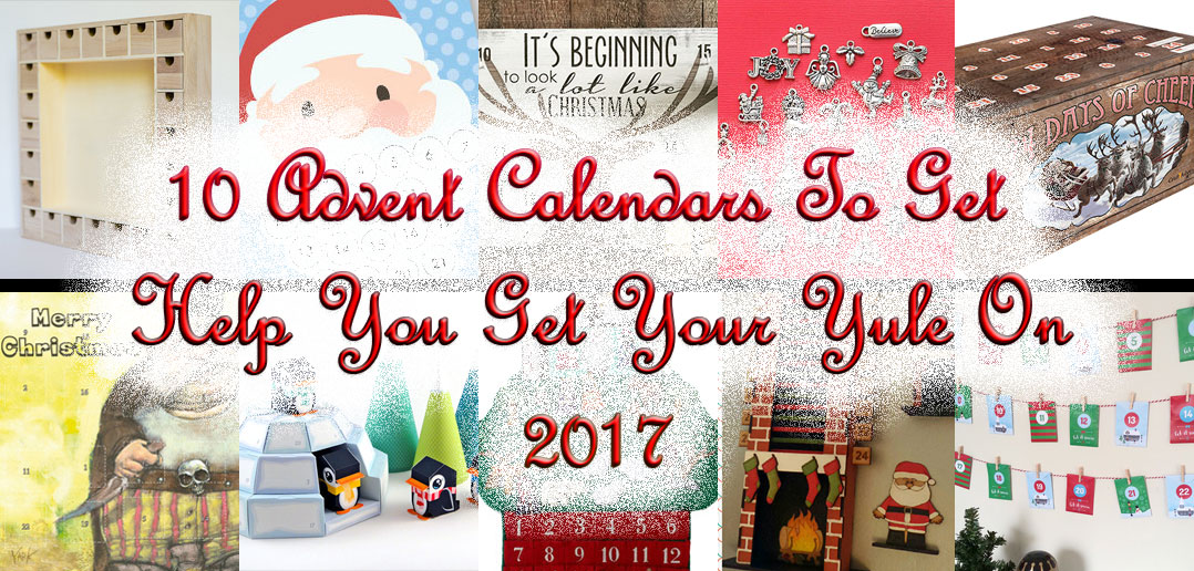 10 advent calendars to help get your yule on 2017 nwot 10 advent calendars to help get your yule on 2017 solutioingenieria Image collections