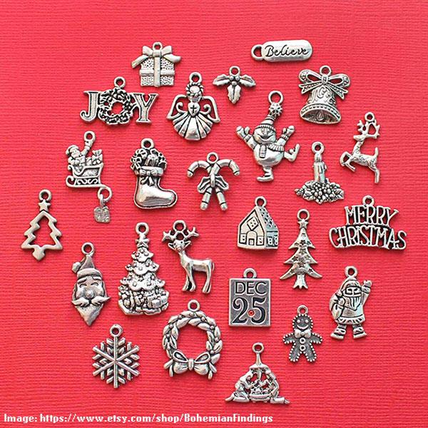 Christmas Charm Collection- BohemianFindings