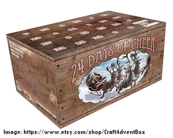 Vintage Crate Craft Beer Advent Calendar