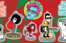 New Wave Christmas Ornaments