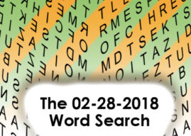 02-28-2018 Word Search