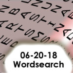 06-20-2018 Word Search