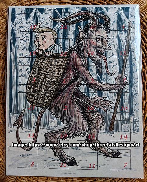 BADvent Calendar - ThreeCatsDesignsArt
