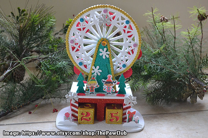 Christmas Countdown Ferris Wheel - ThePawClub