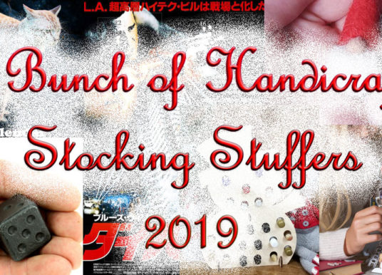 Advent Calendars and Stocking Stuffers - 2019